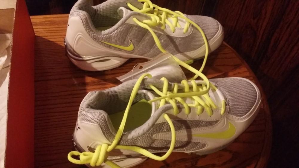 c19cb2ecf2d61 Nike Air Team Destroyer 3 Women's Lacrosse White / Volt-Black ...