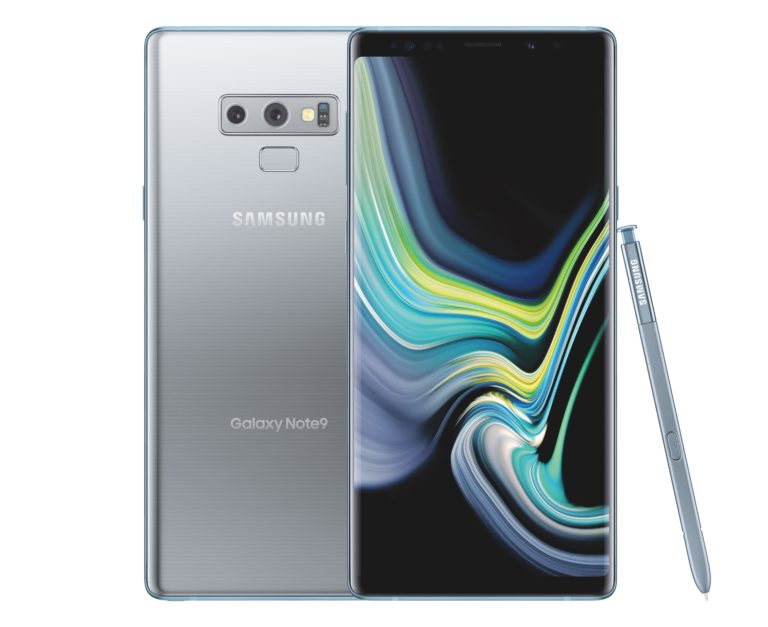 Product Photography Silver – Samsung Galaxy Note9